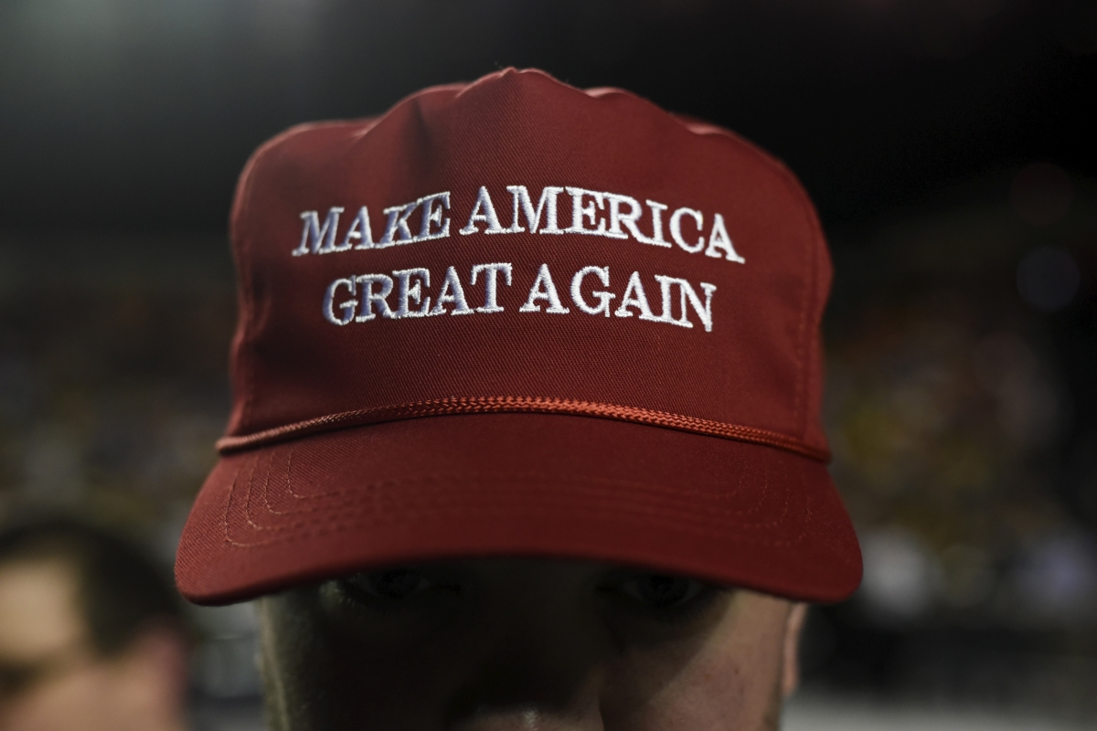 A Goldman Sachs employee selling Donald Trump hats put on paid leave