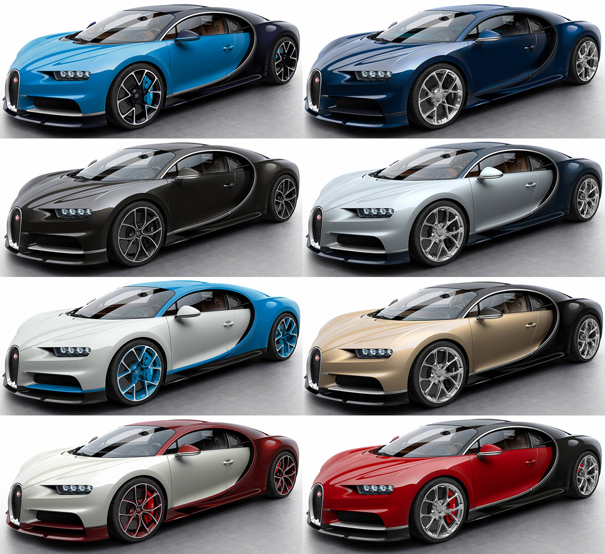 Bugatti Sports Car: Bugatti Chiron: World's Most Powerful Super Sports Car