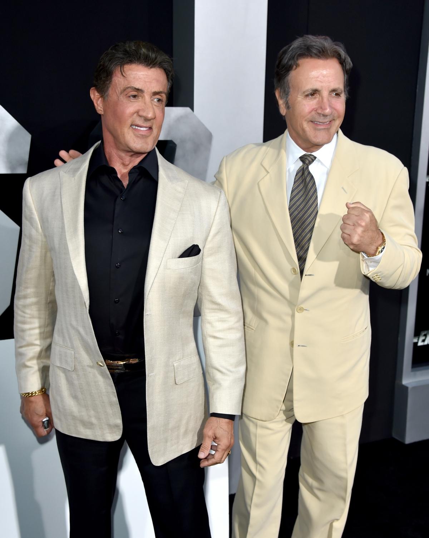 Sylvester Stallone, Frank Stallone