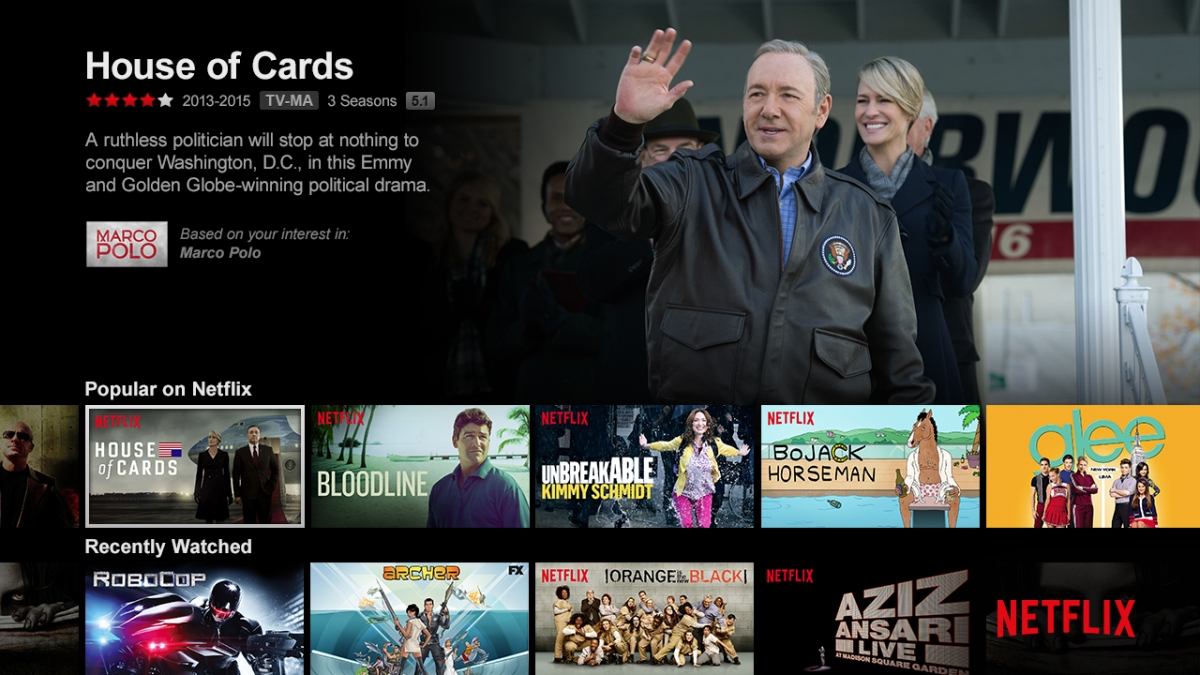 Netflix screenshot show