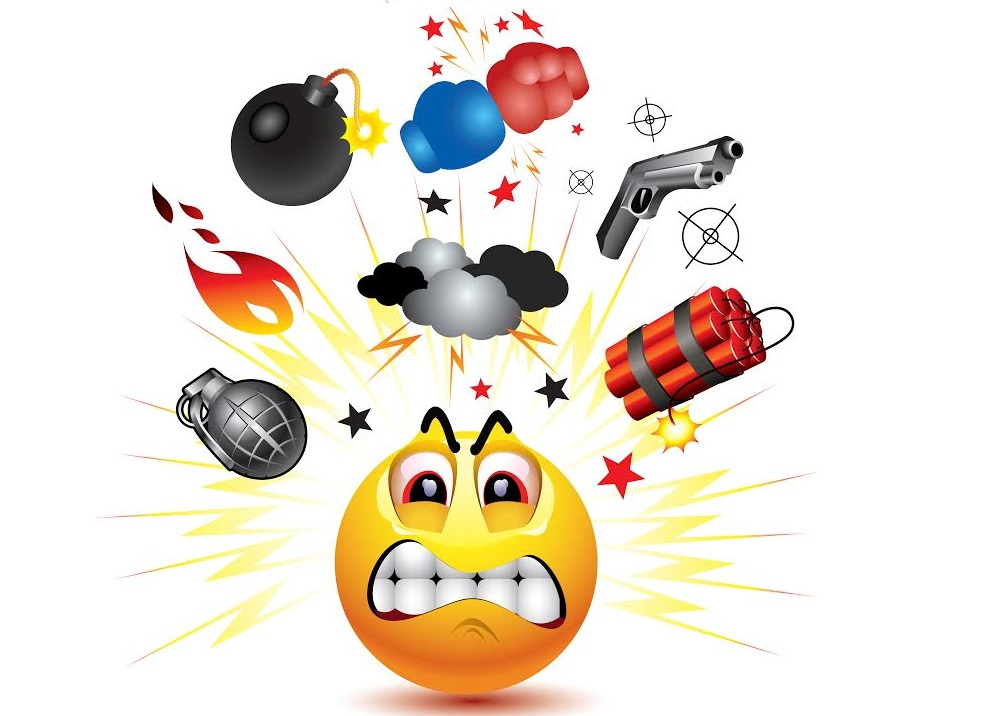 Offensive emojis