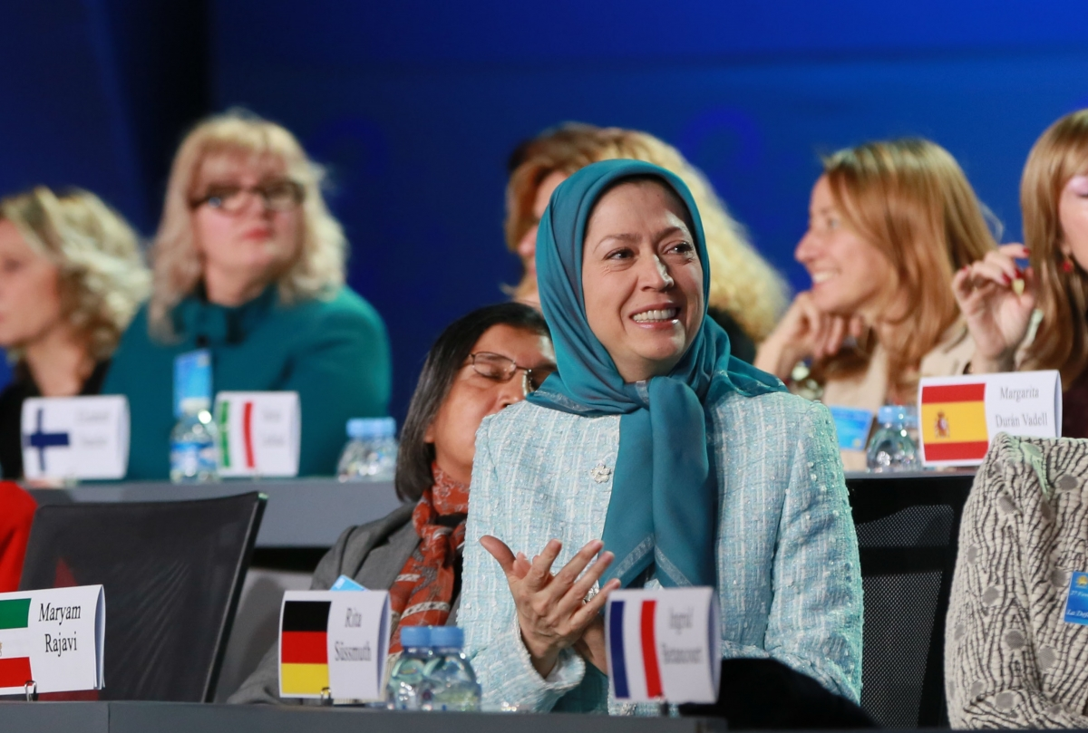 Maryam Rajavi in France