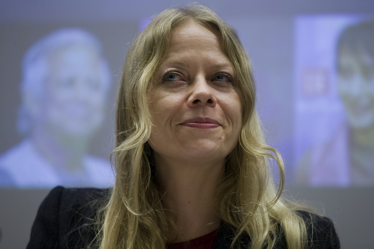 Green Party's London candidate Mayor Sian Berry