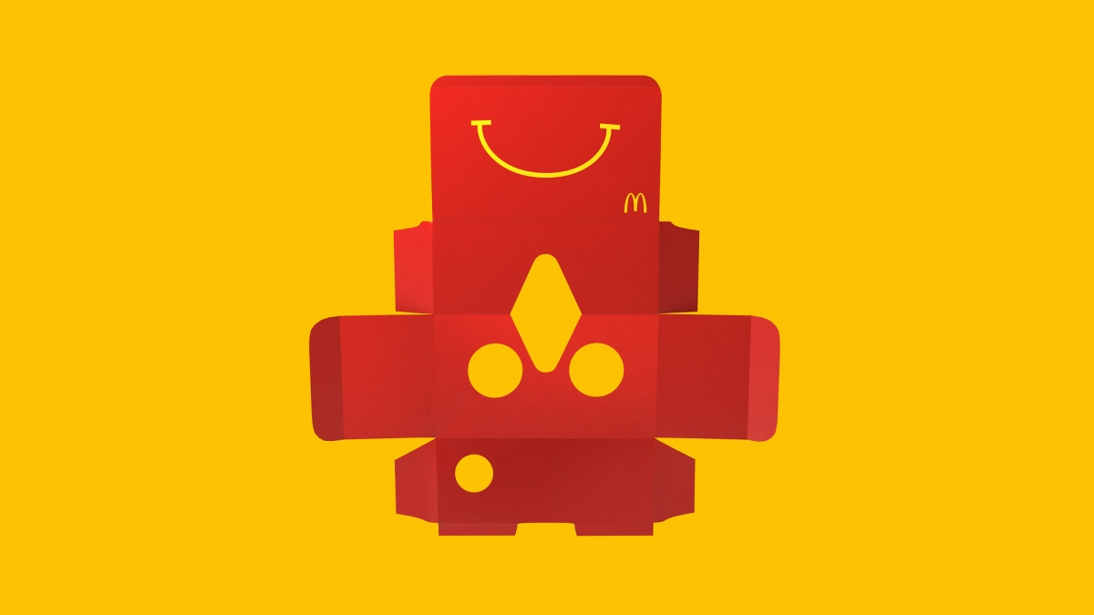McDonald's Happy Goggles design