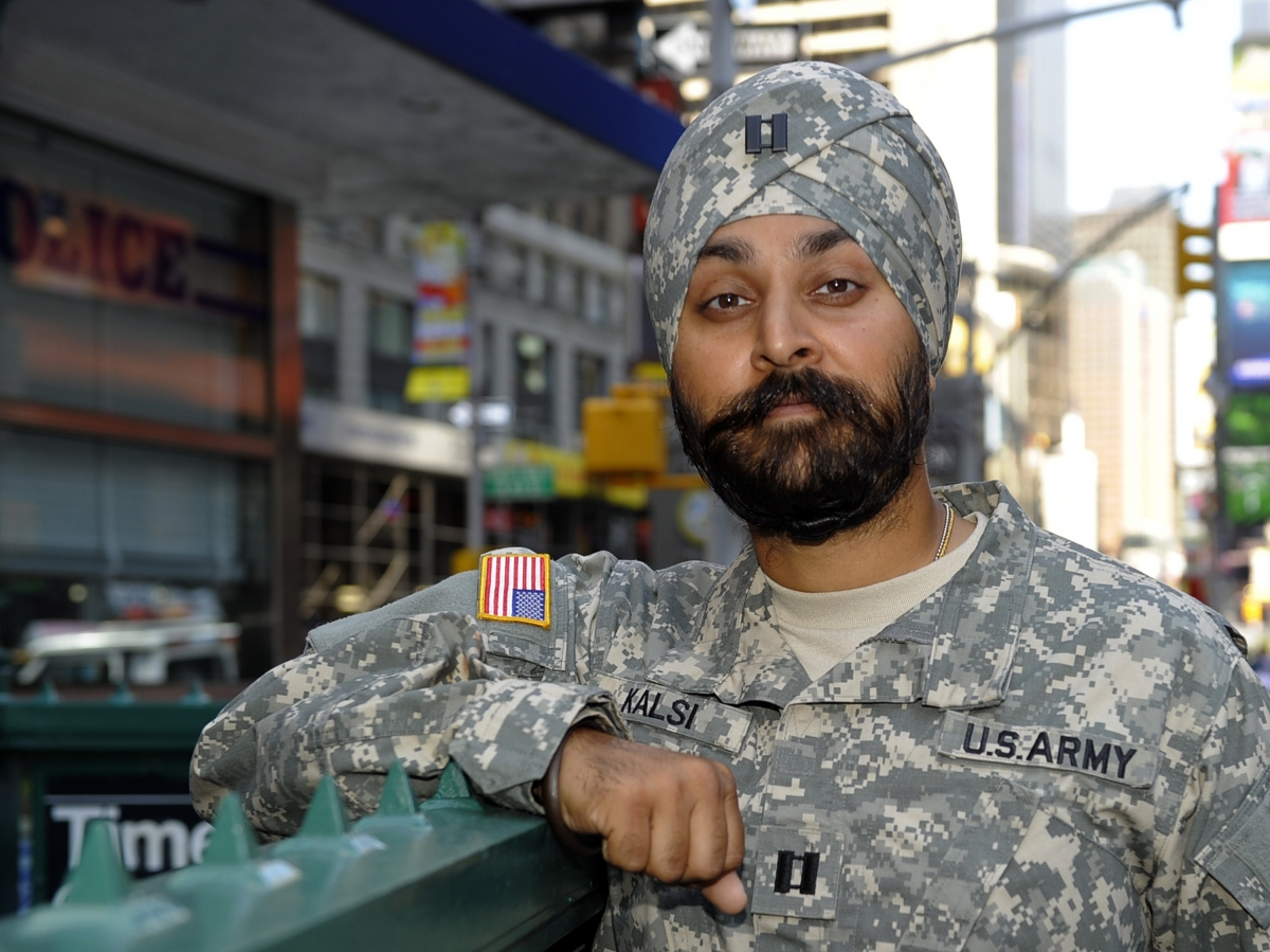 First Sikh soldier