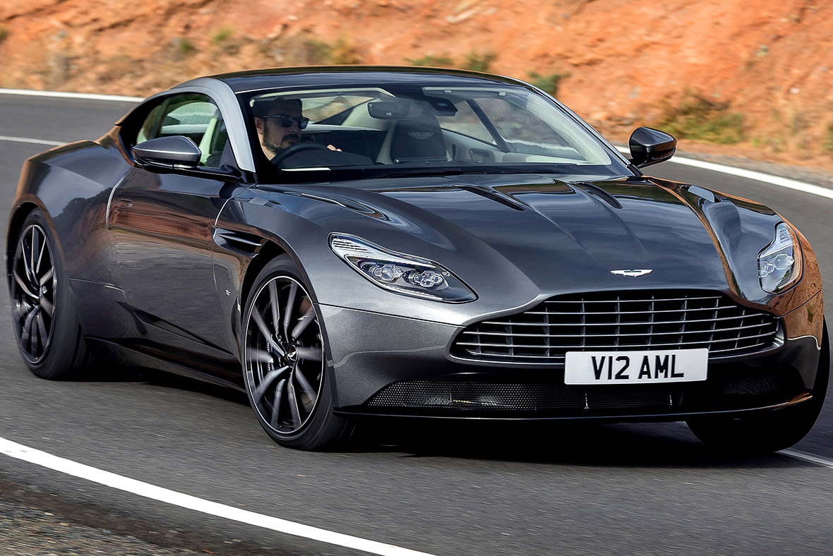 aston martin's 'positive' prospects drivenstrong demand for db11