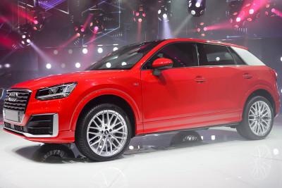 Geneva Motor Show 2016 Audi Q2