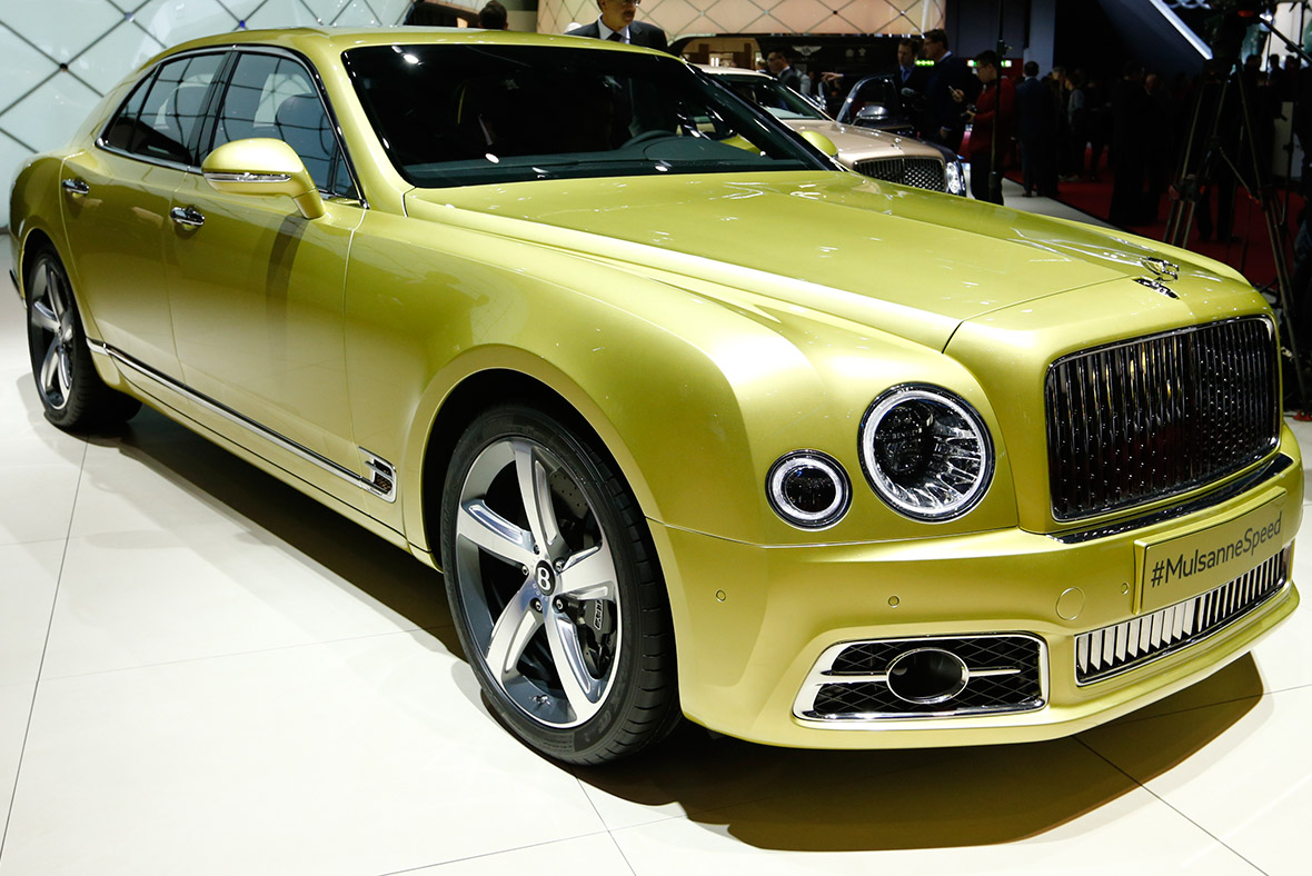 Geneva Motor Show 2016 Bentley Mulsanne Speed