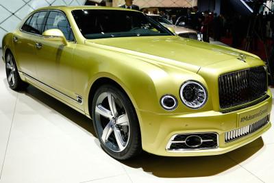 Geneva Motor Show 2016 Bentley Mulsanne Speed