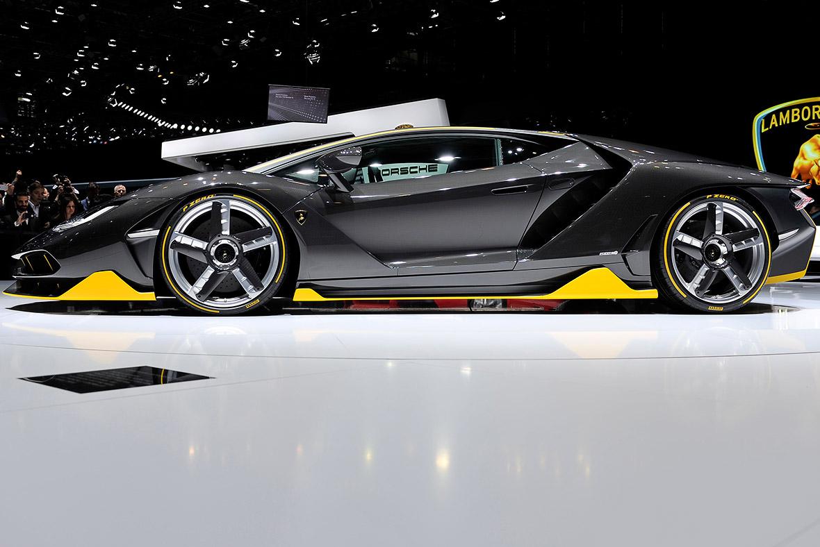 Geneva Motor Show 2016 Lamborghini Centenario