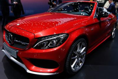 Geneva Motor Show 2016 Mercedes-Benz C 43 Cabriolet