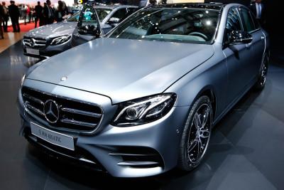 Geneva Motor Show 2016 Mercedes-Benz E 400 4Matic