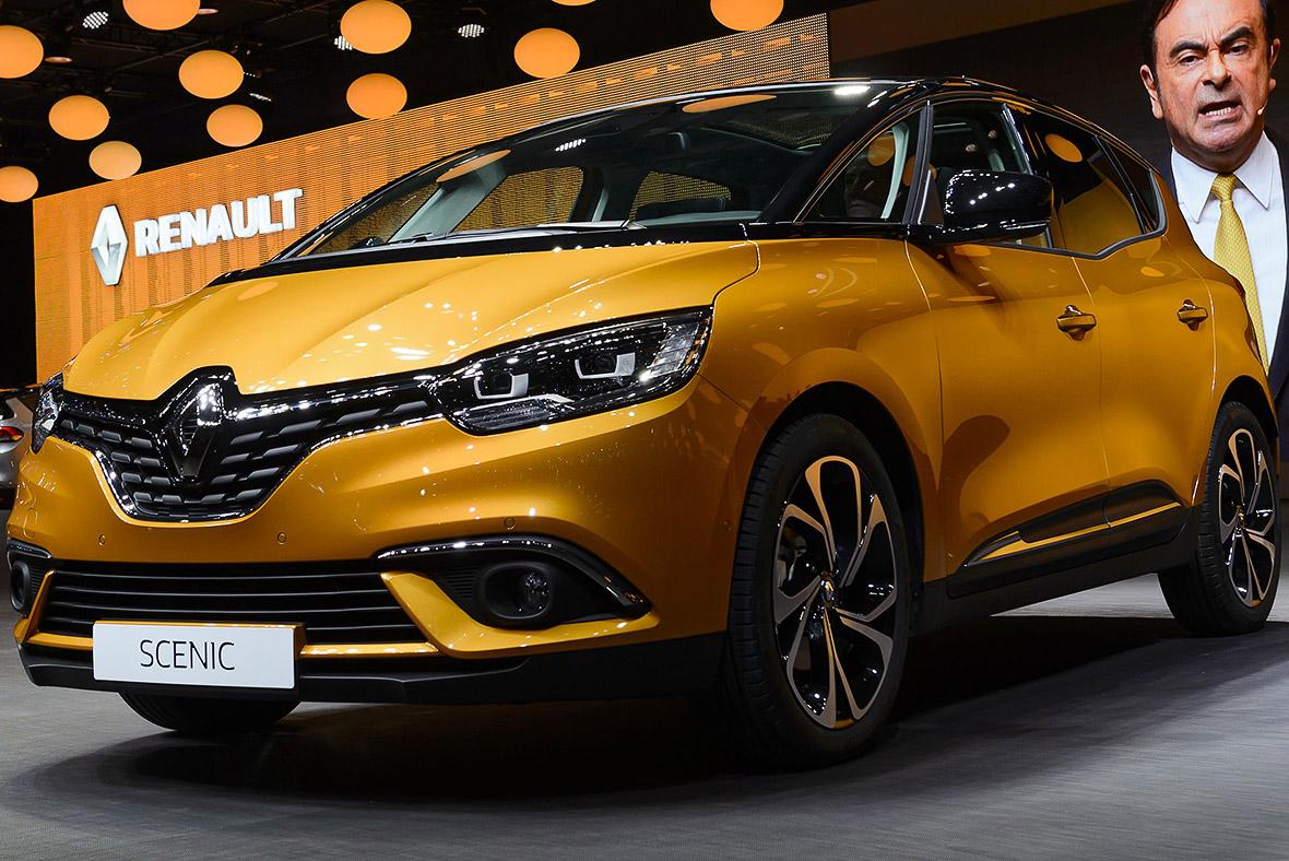 Geneva Motor Show 2016 Renault Scenic