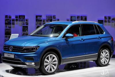 Geneva Motor Show 2016 Volkswagen Tiguan
