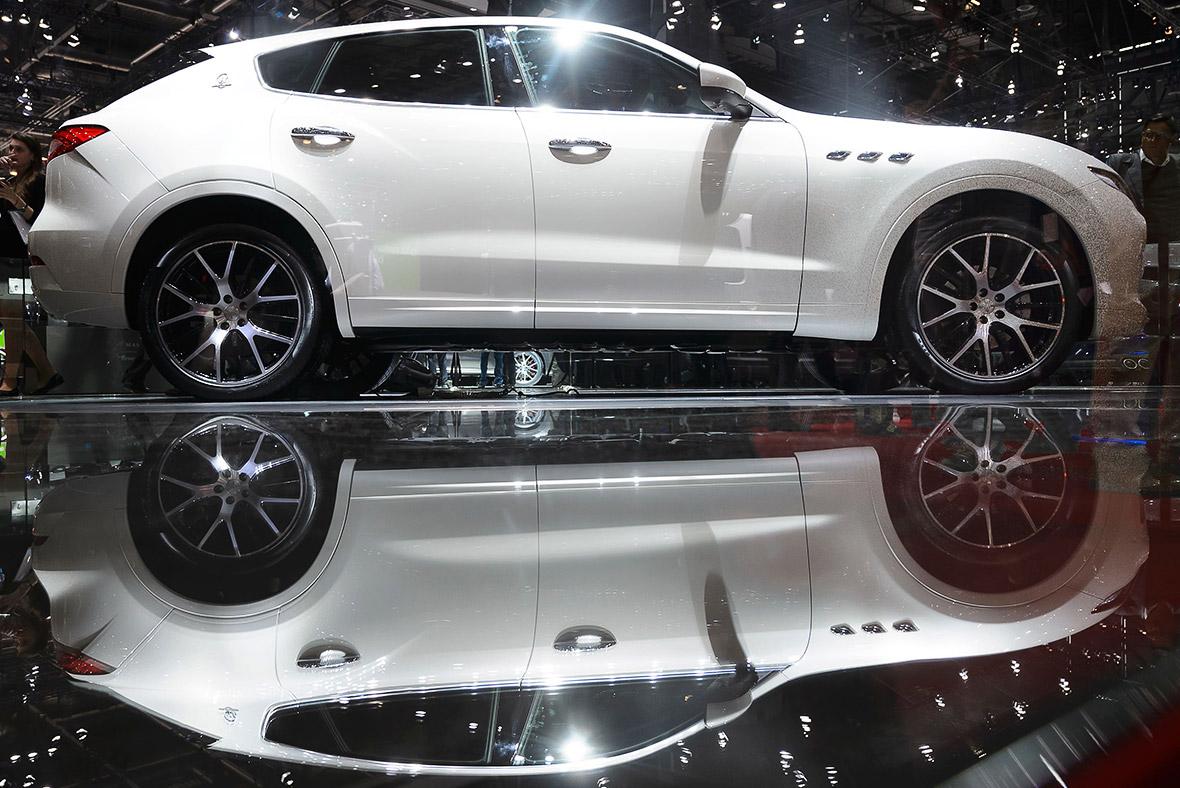 Geneva Motor Show 2016 Maserati Levante SUV
