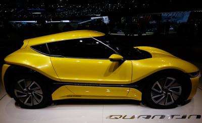 Geneva Motor Show 2016 nanoFlowcell Quantino