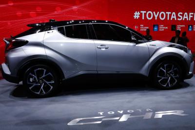 Geneva Motor Show 2016 Toyota C-HR SUV