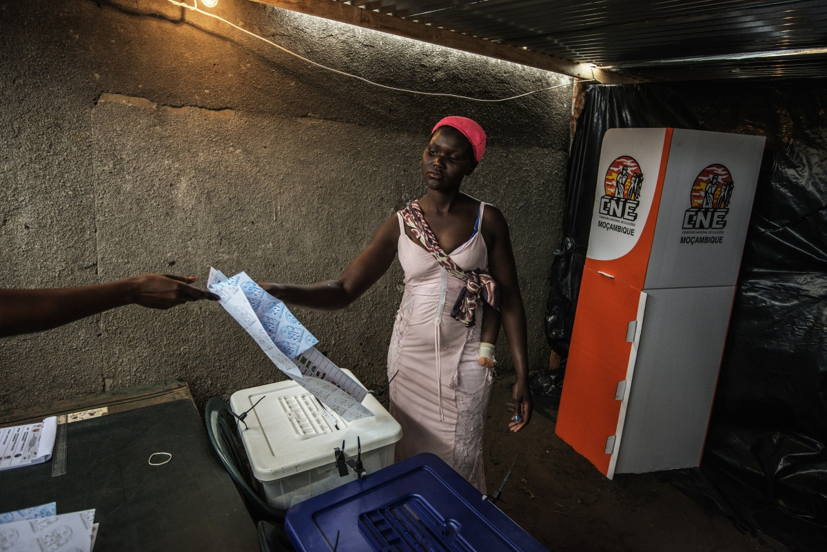 Mozambique elections 2014