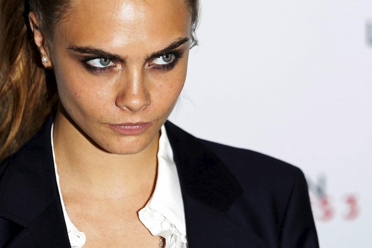 Cara Delevingne eyebrows