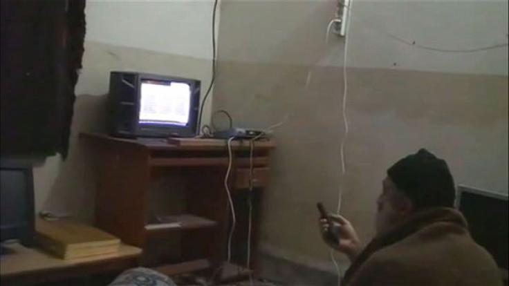 Footage of Bin Laden