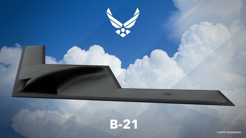 US Air Force B21 bomber
