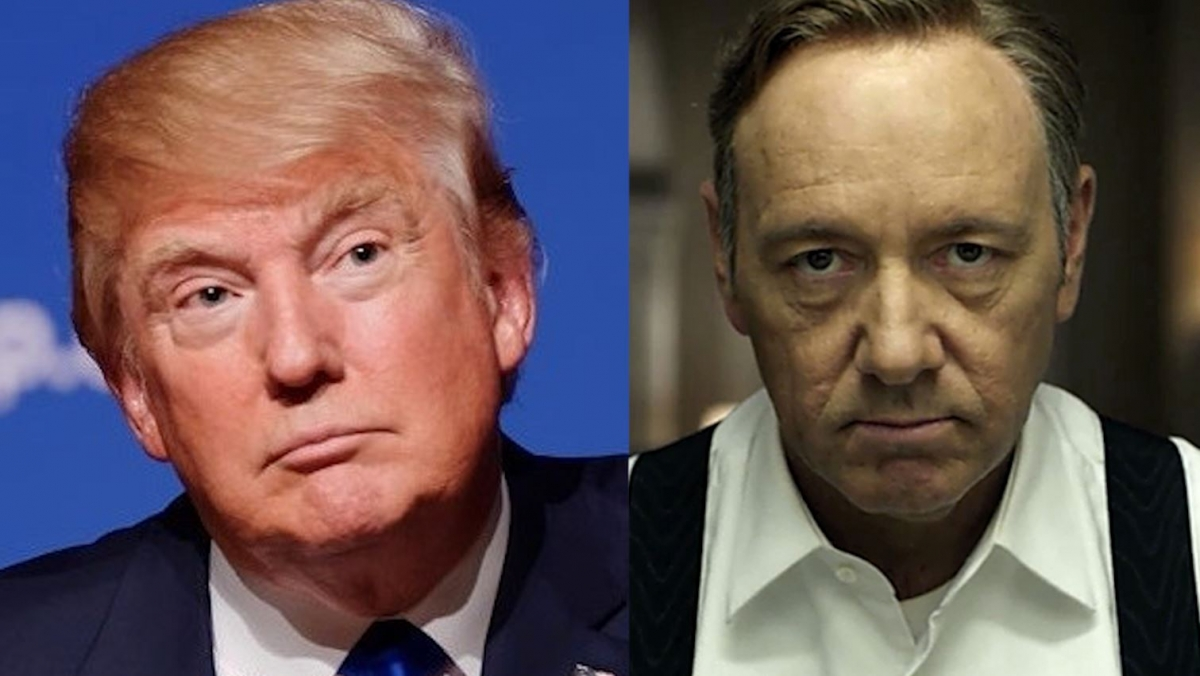 Frank Underwood could take down Donald Trump