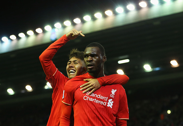 Roberto Firmino and Christian Benteke