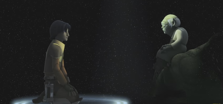 kanan and ezra meet yoda