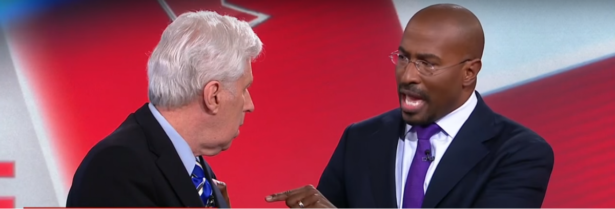 Jeffrey Lord and Van Jones