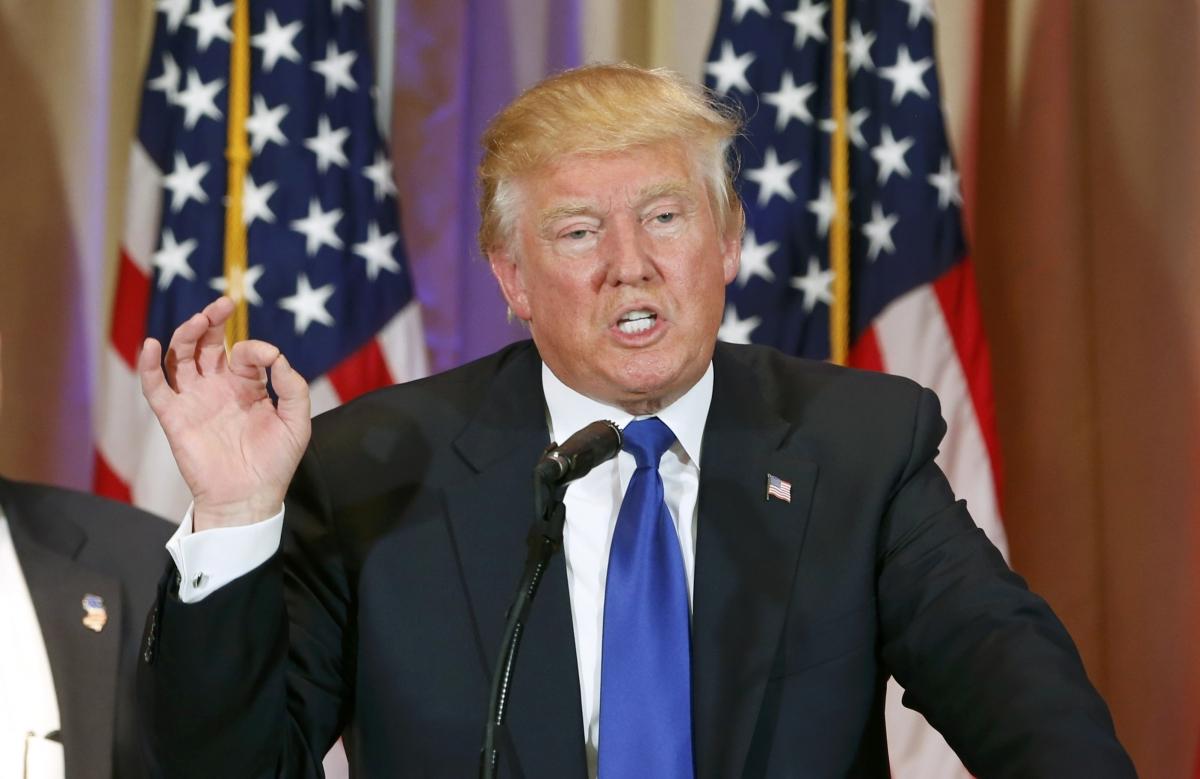 Donald Trump at Super Tuesday