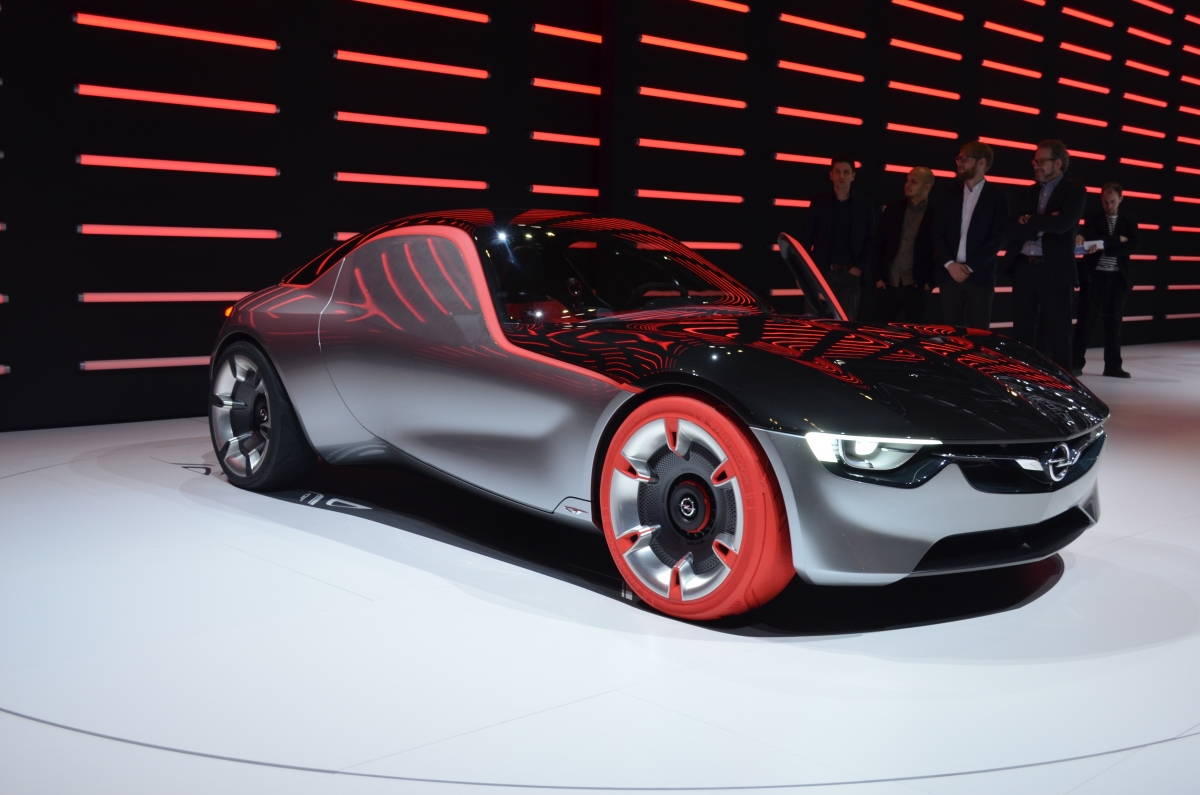 Vauxhall GT Concept GMS