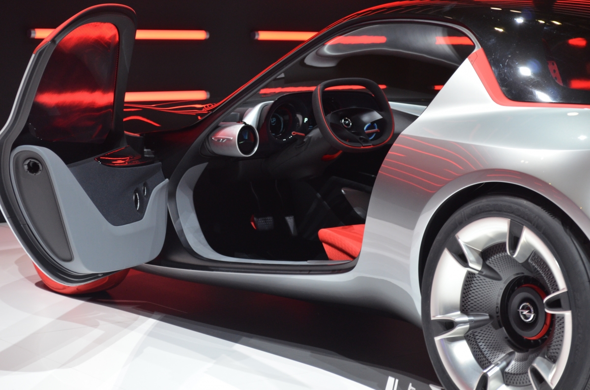 Vauxhall GT concept interior