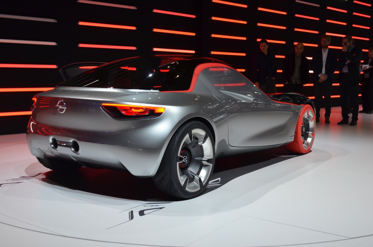 Vauxhall GT concept back