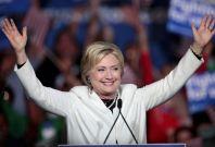 Hillary Clinton on Super Tuesday