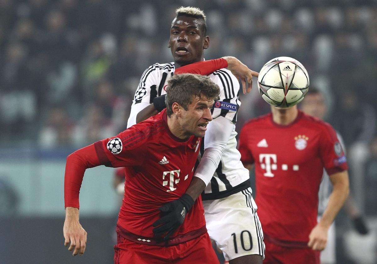 Juventus vs Bayern Munich