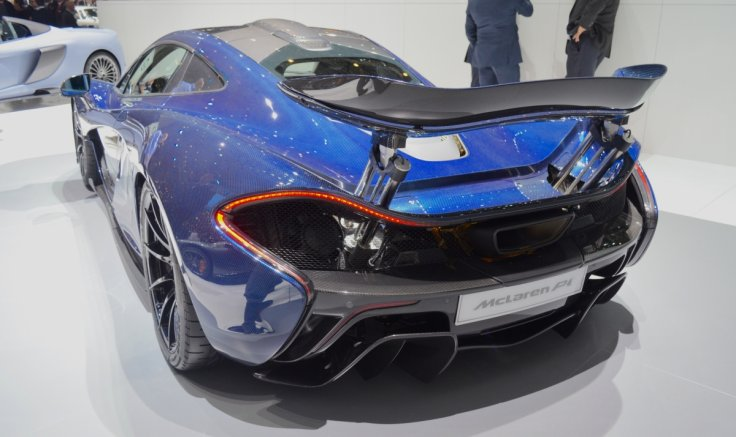 Geneva Motor Show McLaren P1 Pimped With A GBP200000 Paint Job And