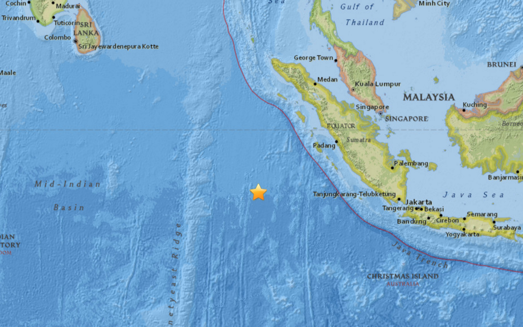 How Many Miles From >> Indonesia earthquake: Deaths confirmed as huge tremor hits ...