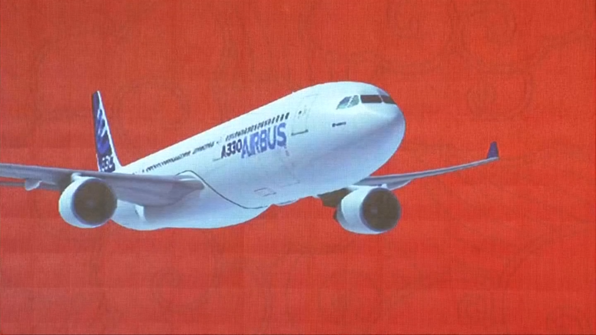Airbus graphic