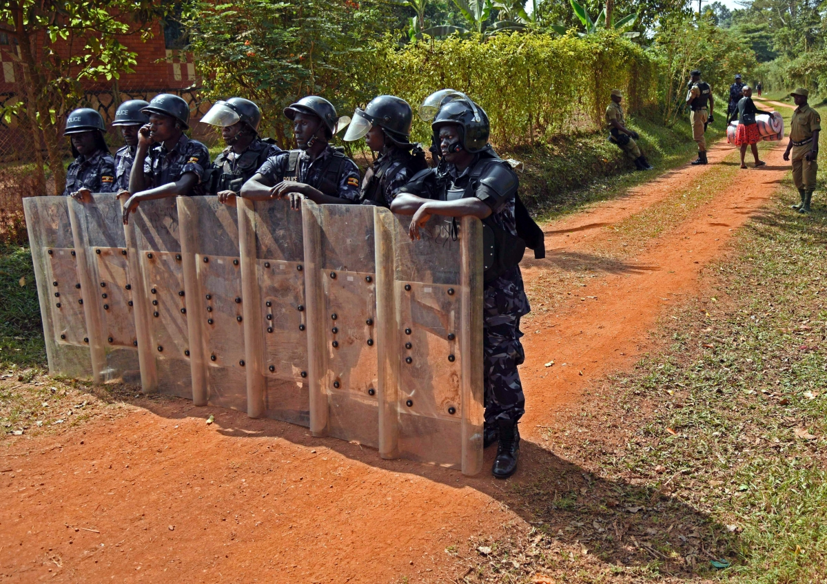Kizza Besigye house arrest
