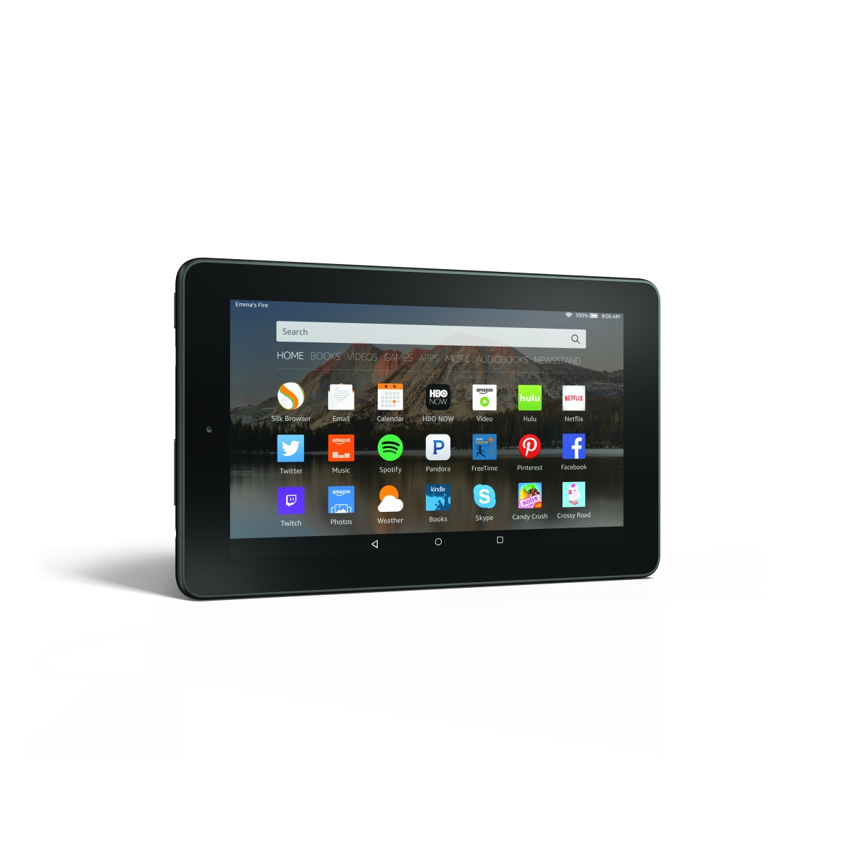 Amazon Fire 7 tablet horizontal