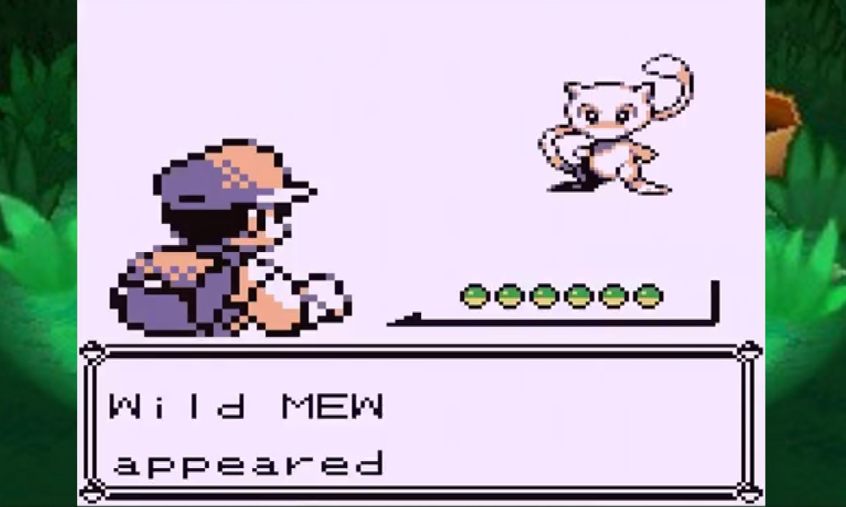 Pokémon Red Blue Yellow Mew