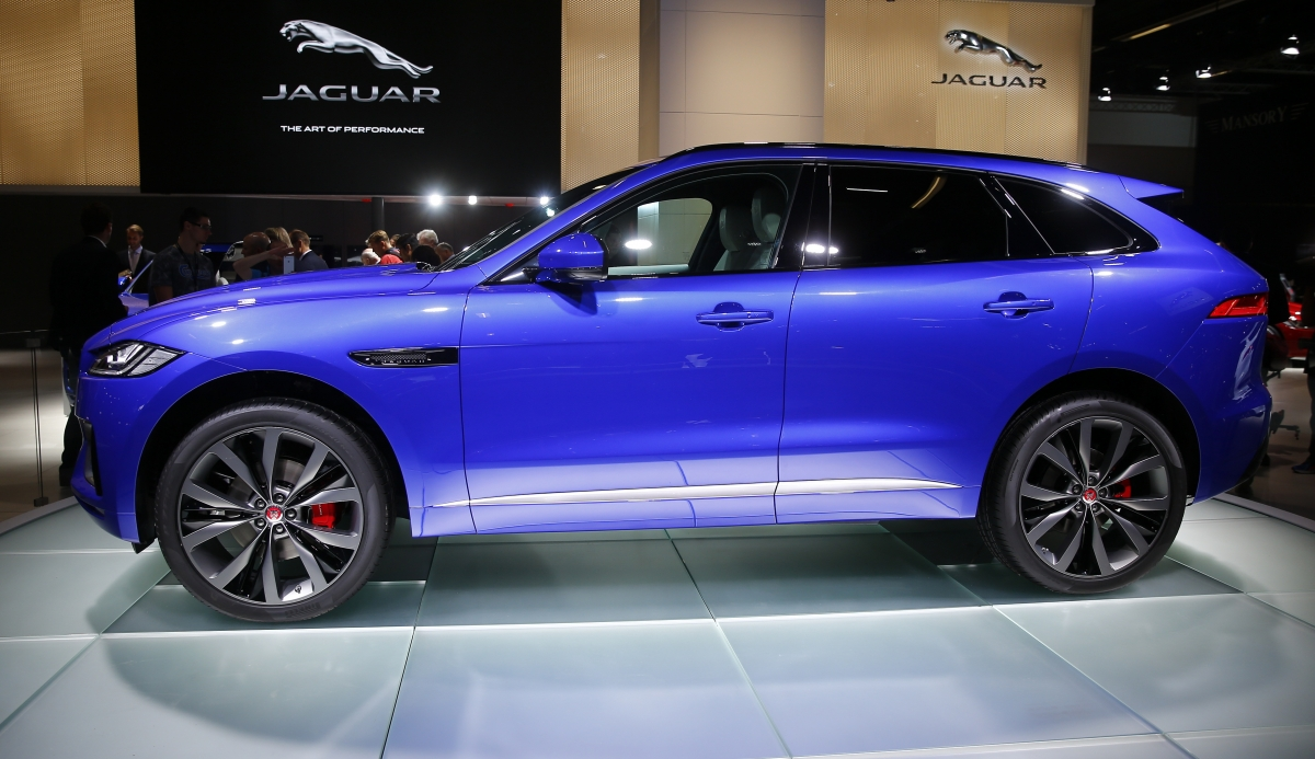JLR's Jaguar F-Pace crossover expected to boost company sales and brand image