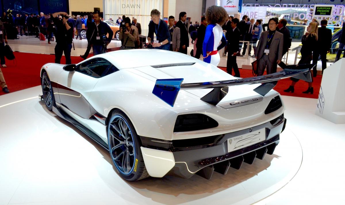 Rimac Concept S Geneva motor show