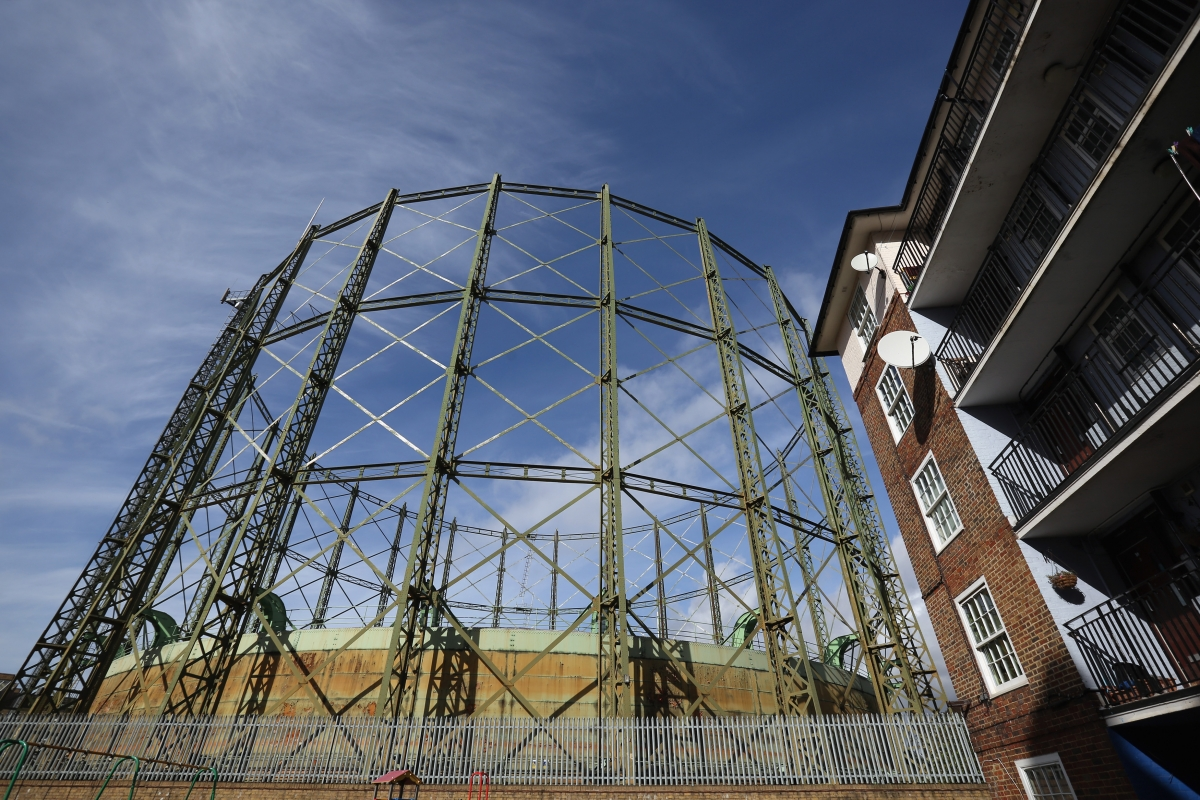 gas holder gasometer
