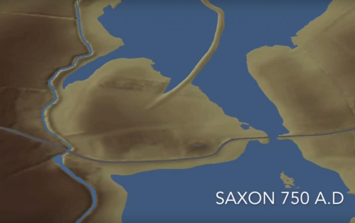 Anglo-Saxon island