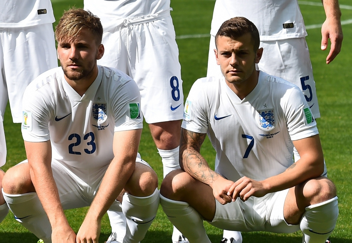 Luke Shaw and Jack Wilshere