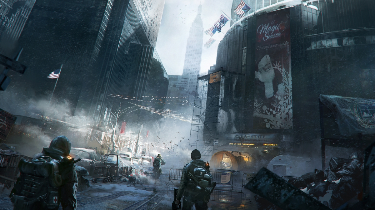 The Division Ubisoft Tom Clancy New York