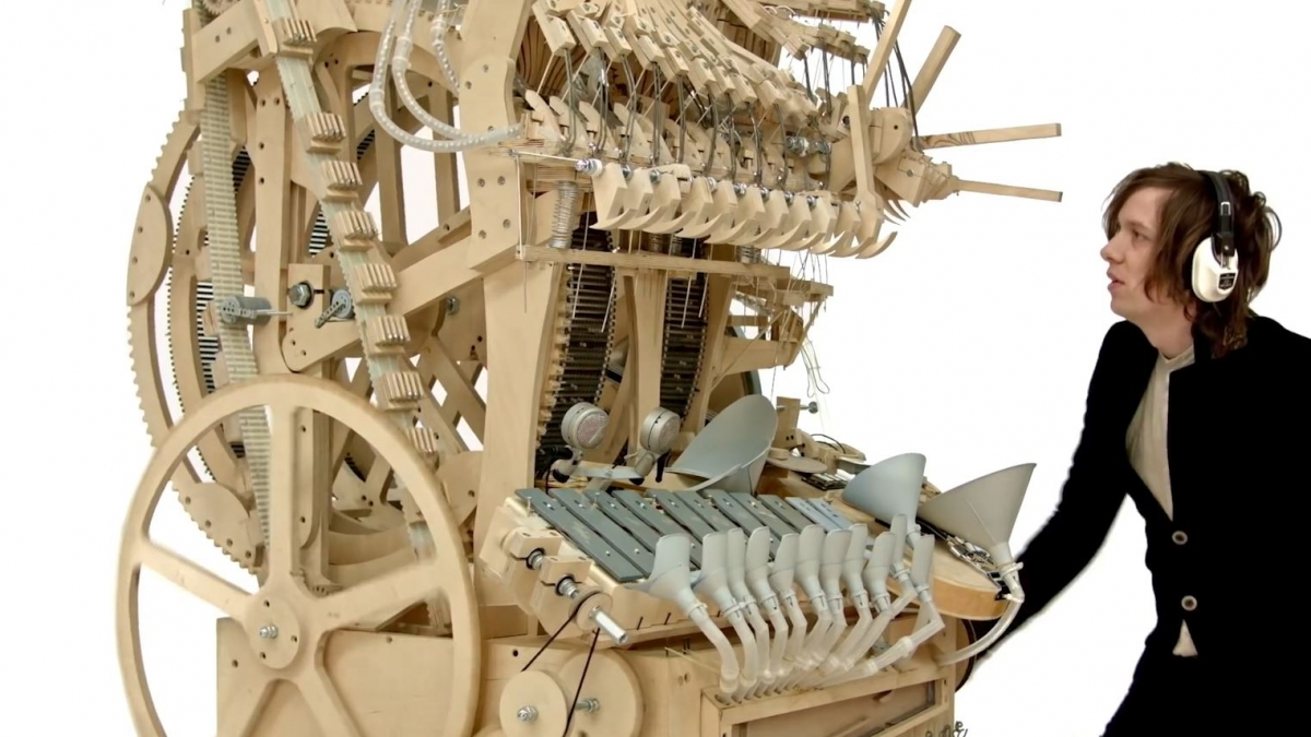 Wintergatens Marble Machine