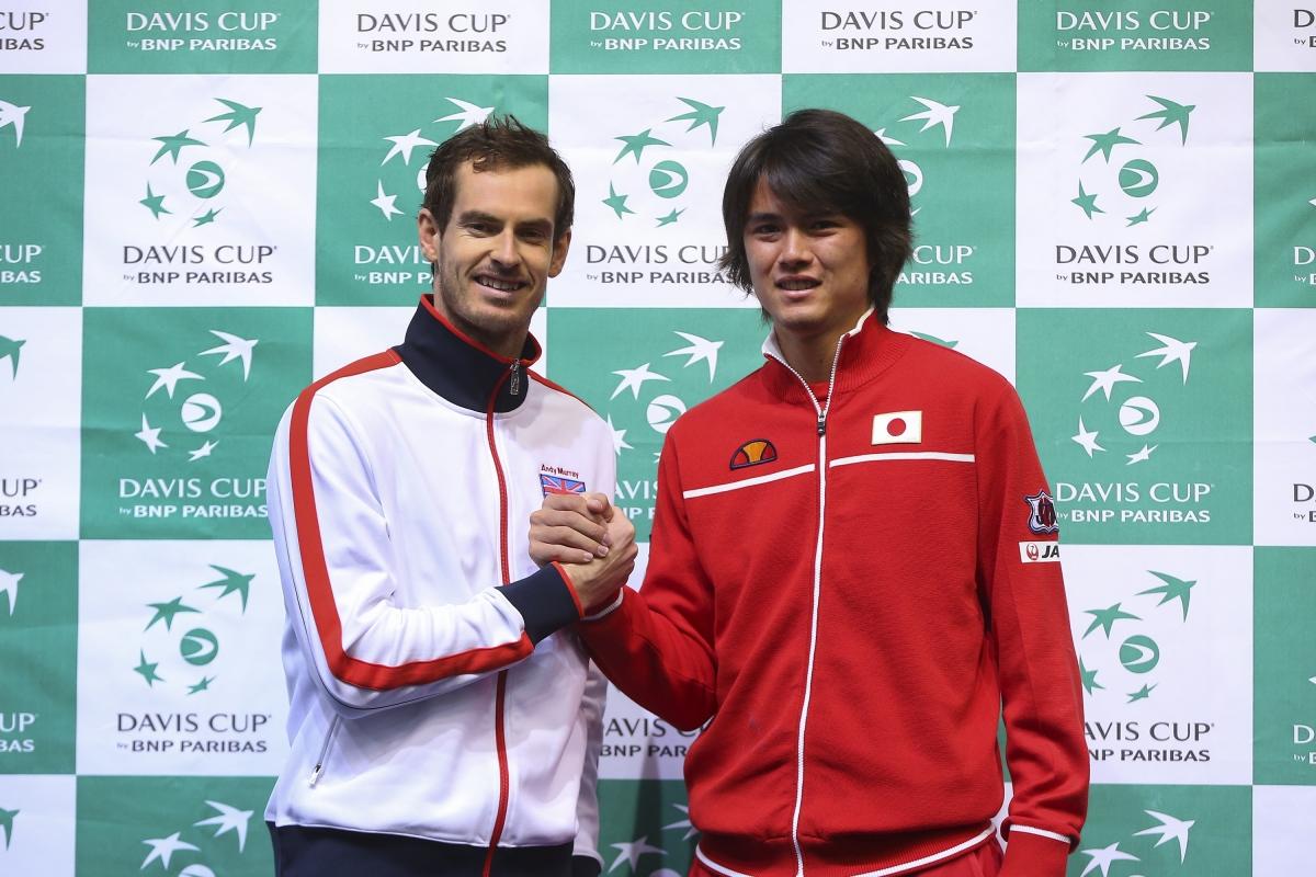 Andy Murray vs Taro Daniel