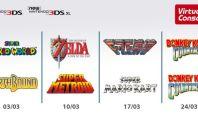 SNES Nintendo 3DS Virtual Console